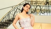 Kangana Ranaut proves she is the queen of Cannes 2019 in ethereal embellished gown. See pics