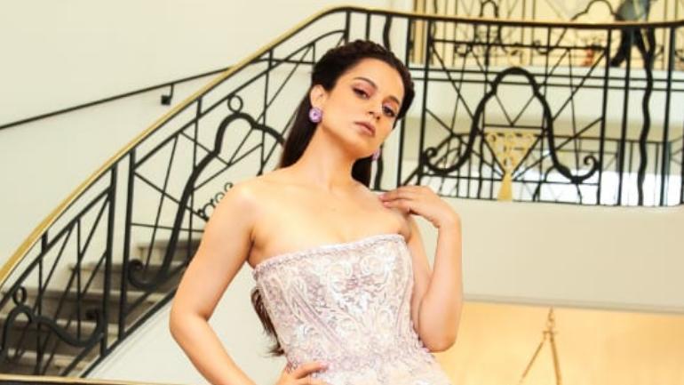Kangana Ranaut at Cannes 2019 Photo: Instagram/Kangana Ranaut