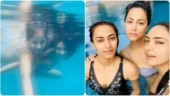 Kasautii stars Hina, Erica and Pooja's underwater pictures will leave you stunned