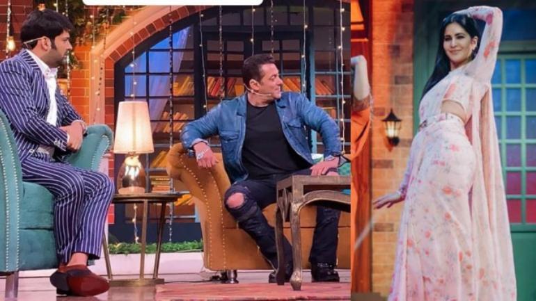 Salman Khan, Katrina Kaif, Kapil Sharma