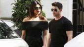 Priyanka Chopra lights up streets of Paris in figure-hugging off-shoulder ensemble with Nick Jonas