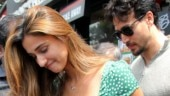 Tiger Shroff protects Disha Patani from crowd as they step out on lunch date. See pics