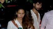 Mira Rajput beats the summer heat in white mini dress on date night with Shahid Kapoor. See pics