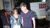 Ileana D'Cruz steps out with hubby Andrew Kneebone for grocery shopping. See pics