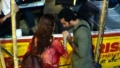 Alia Bhatt and Ranbir Kapoor's photos from Brahmastra sets in Varanasi leaked online. See pics