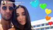 Pregnant Amy Jackson at 27 weeks is chilling with finace George Panayiotou in Cyprus. See pics