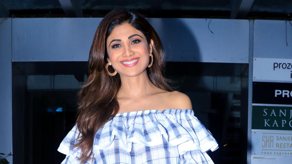 Shilpa Shetty in Andheri, Mumbai Photo: Yogen Shah