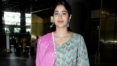 Janhvi Kapoor pulls a rare fashion blunder in pink and blue ethnic attire at airport. See pics