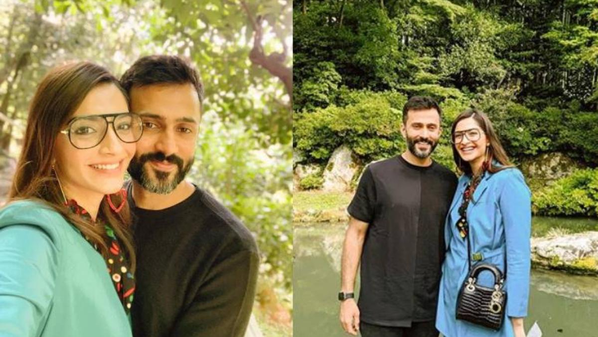 Sonam Kapoor and Anand Ahuja are enjoying their vacation in Japan.