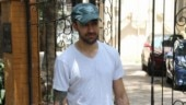 Imran Khan keeps it cool at the gym in white tee and grey shorts. See pics
