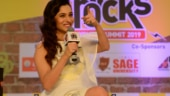 Pavitra Rishta star Ankita Lokhande in hometown for Mind Rocks 2019 Indore. See pics