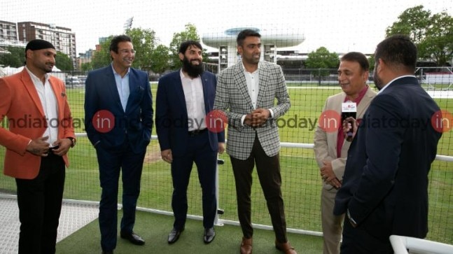 Superstar cricketers from India and Pakistan discussed the impending clash between the two countries at World Cup 2019 (India Today Photo)