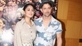 Hrithik Roshan and Mrunal Thakur promote Super 30 in Mumbai. See pics