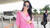 Kiara Advani beats summer blues in pink attire at Mumbai airport. See pics