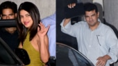 Priyanka Chopra and mom Madhu Chopra meet Siddharth Roy Kapur in Mumbai. See pics
