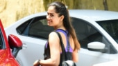 Mira Rajput looks stunning in halter-neck top and pants at the gym. See pics
