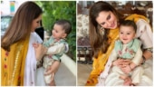 Sania Mirza with her son Izhaan