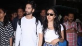 Kiara Advani flaunts toned figure in crop top and pants with Shahid Kapoor at airport. See pics