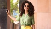 Taapsee Pannu in green shirt and yellow pants exudes strong summer feels. See pics