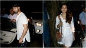 Shahid Kapoor and Mira Rajput twin in white on date night. See pics
