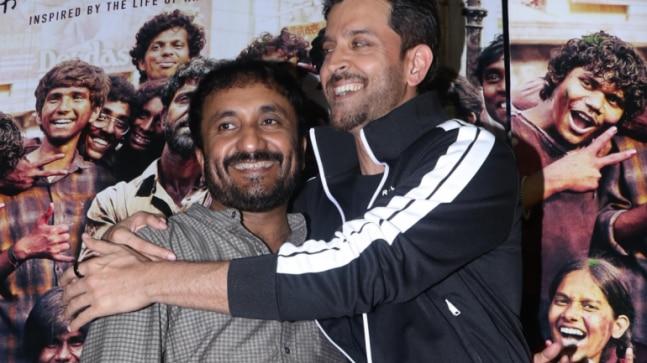 Hrithik Roshan and Anand Kumar