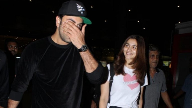 Ranbir Kapoor and Alia Bhatt. Photo: Yogen Shah