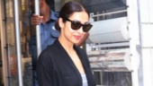 Malaika Arora rocks street style fashion in plunging neckline dress on day out. See pics