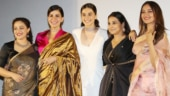 Vidya Balan to Taapsee Pannu: Mission Mangal ladies bring elegance to trailer launch