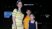 Maanayata Dutt steps out for dinner date with kids Iqra and Shahraan Dutt. See pics