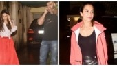 Arjun Kapoor joins Malaika Arora and Amrita Arora in a visit to their parents. See pics