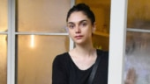 Aditi Rao Hydari makes street style all about comfort in quirky top and mini denim shorts. See pics