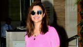 Parineeti Chopra screams fashion disaster in bubblegum pink top and tights as she trains for Saina