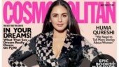 Huma Qureshi kills it in thigh-slit dress on Cosmopolitan India July 2019 cover. See pics