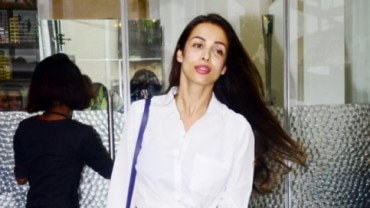 Malaika Arora in Bandra Photo: Yogen Shah