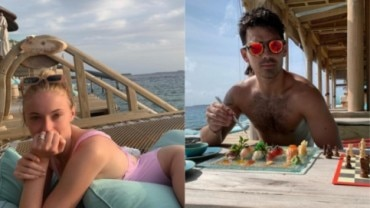 Joe Jonas and Sophie Turner on Honeymoon Photo: Instagram/ Sophie Turner and Joe Jonas