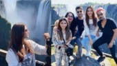 Kriti Sanon explores Zambian wildlife with friends