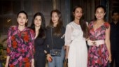 Malaika Arora pairs sheer dress with Rs 1.4 lakh bag on date night with Amrita and Karisma Kapoor