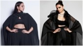 Sonakshi Sinha rocks bralette and pants in new look. Does it remind you of Deepika Padukone?