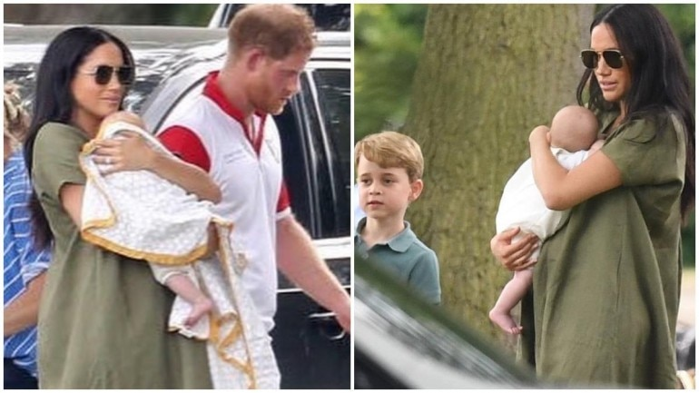 Meghan Markle and Prince Harry with son Archie