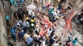 In pictures: Four-storey building in Mumbai collapses, many feared trapped
