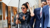Priyanka Chopra in sexy leather dress is rocker chic on NYC streets. See pics