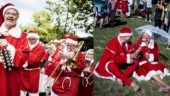 World Santa Congress: Every year Santas from around the world gather here. The pictures are too cute