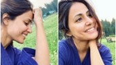 Hina Khan looks radiant in no-makeup pics from the hills