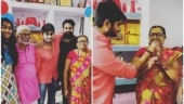 Bigg Boss 12 contestant Deepak Thakur gets a sweet surprise on his birthday. See pics
