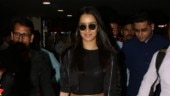 Shraddha Kapoor pairs chic with casual in crop top and baggy pants at airport. See pics