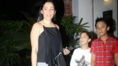 Maanayata Dutt takes kids Shahraan and Iqra out on dinner date. See pics
