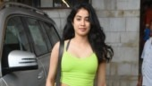 Janhvi Kapoor at the gym Photo: Yogen Shah