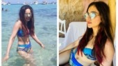 Rakul Preet Singh in blue bikini burns up Ibiza on her Spanish holiday. See pics