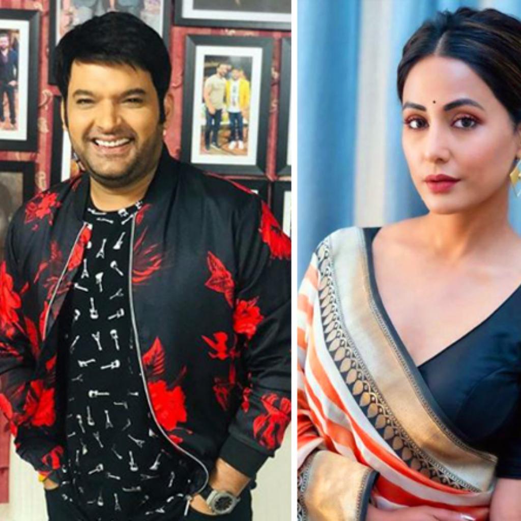 Kapil Sharma and Hina Khan