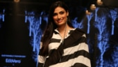Athiya Shetty in dramatic monochrome saree is all about 60s charm at Lakme Fashion Week 2019